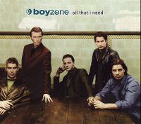 Cover Boyzone - All That I Need