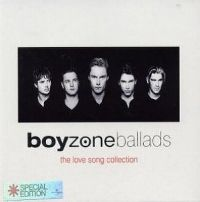 Cover Boyzone - Ballads - The Love Song Collection