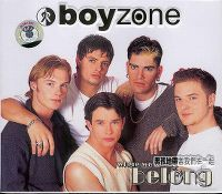 Cover Boyzone - Where We Belong