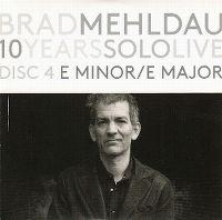 Cover Brad Mehldau - 10 Years Solo Live