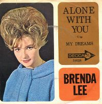 Cover Brenda Lee - Alone With You