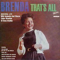 Cover Brenda Lee - Brenda, That's All