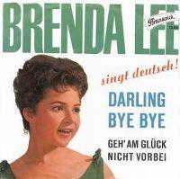 Cover Brenda Lee - Darling Bye Bye