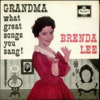 Cover Brenda Lee - Grandma, What Great Songs You Sang!