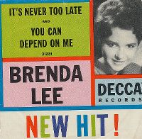 Cover Brenda Lee - It's Never Too Late