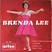 Cover Brenda Lee - Lover, Come Back To Me