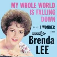 Cover Brenda Lee - My Whole World Is Falling Down