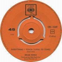 Cover Brian Poole - Everything I Touch Turns To Tears