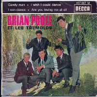 Cover Brian Poole And The Tremeloes - Candy Man