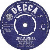 Cover Brian Poole And The Tremeloes - Keep On Dancing