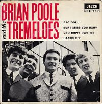 Cover Brian Poole And The Tremeloes - Rag Doll