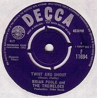 Cover Brian Poole And The Tremeloes - Twist And Shout
