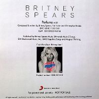 Cover Britney Spears - Perfume