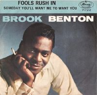 Cover Brook Benton - Fools Rush In