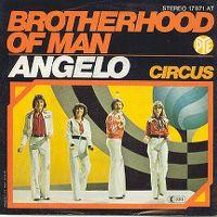 Cover Brotherhood Of Man - Angelo