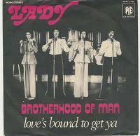 Cover Brotherhood Of Man - Lady