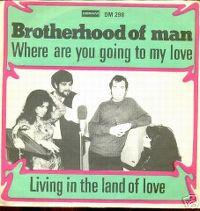 Cover Brotherhood Of Man - Where Are You Going To My Love