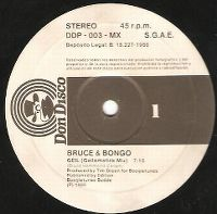 Cover Bruce & Bongo - Geil