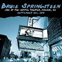 Cover Bruce Springsteen - Live At The Capitol Theater, Passiac, NJ - September 19th, 1978