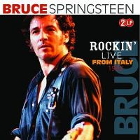 Cover Bruce Springsteen - Rockin' Live From Italy 1993