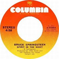 Cover Bruce Springsteen - Spirit In The Night
