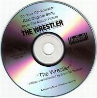 Cover Bruce Springsteen - The Wrestler
