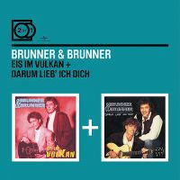 Cover Brunner & Brunner - 2 In 1: Eis im Vulkan / Darum lieb' ich Dich