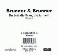 Cover Brunner & Brunner - Du bist die Frau, die ich will