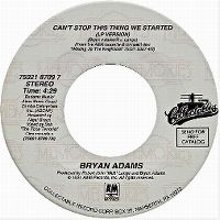 Cover Bryan Adams - Can't Stop This Thing We Started