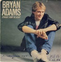 Cover Bryan Adams - Straight From The Heart