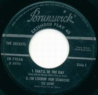 Cover Buddy Holly And The Crickets - That'll Be The Day