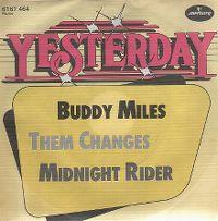 Cover Buddy Miles & Carlos Santana - Them Changes