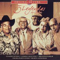 Cover Buena Vista Social Club - 5 leyendas de Cuba