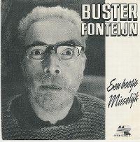 Cover Buster Fonteijn - Een beetje misselijk