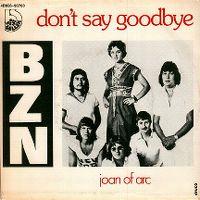 Cover BZN - Don't Say Goodbye