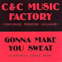 Cover C & C Music Factory feat. Freedom Williams - Gonna Make You Sweat (Everybody Dance Now)