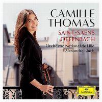 Cover Camille Thomas - Saint-Saëns - Offenbach