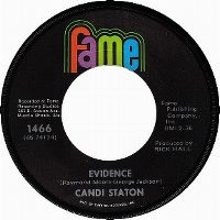 Cover Candi Staton - Evidence
