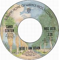 Cover Candi Staton - Here I Am Again