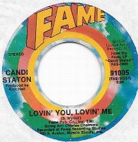 Cover Candi Staton - Lovin' You, Lovin' Me