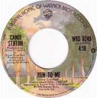Cover Candi Staton - Run To Me