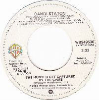 Cover Candi Staton - The Hunter Gets Captured By The Game