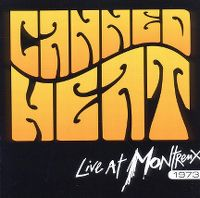 Cover Canned Heat - Live At Montreux 1973