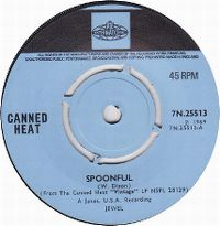 Cover Canned Heat - Spoonful