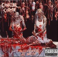 Cover Cannibal Corpse - Butchered At Birth