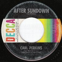 Cover Carl Perkins - After Sundown