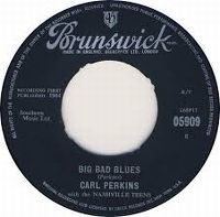 Cover Carl Perkins - Big Bad Blues