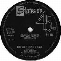 Cover Carl Perkins - Country Boy's Dream