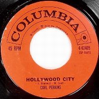 Cover Carl Perkins - Hollywood City