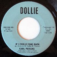 Cover Carl Perkins - If I Could Come Back
